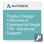 Autodesk Product Design Collection IC Commercial New Single-user ELD Annual Subscription - Advanced Support