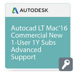 Autodesk AutoCAD LT 2016 for Mac with Advanced Support (1-Year Subscription, Download)