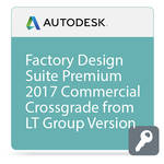 Autodesk Factory Design Suite Premium 2017 Commercial Crossgrade from LT Group Products ELD