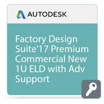 Autodesk Factory Design Suite Premium 2017 Commercial New Single-user ELD Annual Subscription - Advanced Support