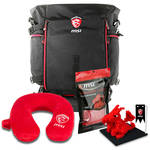 "MSI 15-18.3"" GT Series Travel Pillow Backpack Bundle"