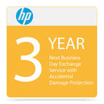 HP Next Business Day Exchange Service with Accidental Damage Protection (3-Year)