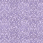 Westcott Leafy Damask Matte Vinyl Backdrop with Hook-and-Loop Attachment (3.5 x 3.5', Purple)