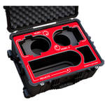 Jason Cases Hard Rolling Case for Sony BRC-Z330 Robotic Cameras (Red Overlay)