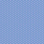 Westcott Small Dots Art Canvas Backdrop with Hook-and-Loop Attachment (3.5 x 3.5', Blue)