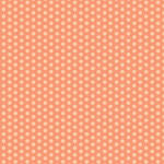 Westcott Small Dots Art Canvas Backdrop with Hook-and-Loop Attachment (3.5 x 3.5', Orange)