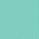 Westcott Small Dots Matte Vinyl Backdrop with Hook-and-Loop Attachment (3.5 x 3.5', Turquoise)