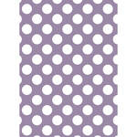 Westcott Large Dots Art Canvas Backdrop with Grommets (5 x 7', Purple)
