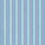 Westcott Striped Wallpaper Art Canvas Backdrop with Hook-and-Loop Attachment (3.5 x 3.5', Blue)