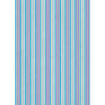 Westcott Striped Wallpaper Art Canvas Backdrop with Grommets (5 x 7', Blue)