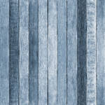 Westcott Rustic Wood Matte Vinyl Backdrop with Hook-and-Loop Attachment (3.5 x 3.5', Blue)