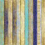 Westcott Rustic Wood Pattern Art Canvas Backdrop with Hook-and-Loop Attachment (3.5 x 3.5', Yellow)
