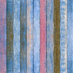 Westcott Rustic Wood Matte Vinyl Backdrop with Hook-and-Loop Attachment (3.5 x 3.5', Bold Blue)