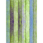 Westcott Rustic Wood Art Canvas Backdrop with Grommets (5 x 7', Bold Sage)