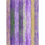 Westcott Rustic Wood Matte Vinyl Backdrop with Grommets (5 x 7', Bold Purple)