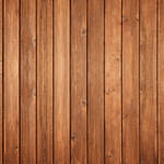 Westcott Vertical Wood Matte Vinyl Backdrop with Hook-and-Loop Attachment (3.5 x 3.5', Bright Mocha)