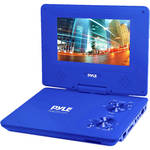 "Pyle Home 9"" Portable DVD Player (Blue)"