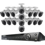Lorex 16-Channel 4MP NVR with 3TB HDD and 16 3MP Outdoor Bullet Cameras