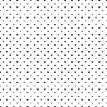 Westcott Hearts Art Canvas Backdrop with Hook-and-Loop Attachment (3.5 x 3.5', Black Pattern, White Background)