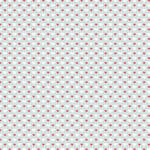 Westcott Hearts Art Canvas Backdrop with Hook-and-Loop Attachment (3.5 x 3.5', Fuschia and White Pattern, Green Background)