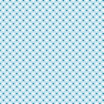 Westcott Hearts Art Canvas Backdrop with Hook-and-Loop Attachment (3.5 x 3.5', Blue and White Pattern, Sky Blue Background)
