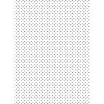 Westcott Hearts Art Canvas Backdrop with Grommets (5 x 7', Black Pattern, White Background)
