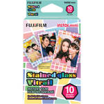 FUJIFILM INSTAX Mini Stained Glass Instant Film (10 Exposures)