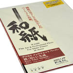 Awagami Factory Kozo Thick Natural Fine-Art Inkjet Paper (A3, 110 gsm, 10 Sheets)