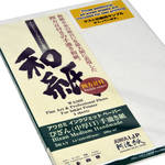 Awagami Factory Bizan Medium Natural Handmade Paper (A4, 8.3 x 11.7, 5 Sheets)