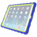 Gumdrop Cases Hideaway Case for iPad Air 2 (Royal Blue, Lime)