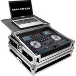 Marathon Flight Road Case with Laptop Shelf for One Numark NV Serato DJ Music Controller