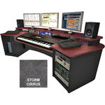Omnirax Force Keyboard Composing Workstation (Storm Cirrus Formica)