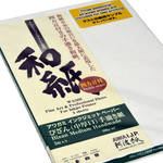 "Awagami Factory Bizan Medium Natural Handmade Paper (A3+, 13 x 19"", 5 Sheets)"