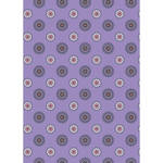 Westcott Ditsy Daisy Matte Vinyl Backdrop with Grommets (5 x 7', Purple)