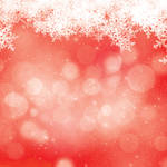 Westcott Snowy Bokeh Art Canvas Backdrop with Hook-and-Loop Attachment (3.5 x 3.5', Red)