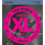 D'Addario EPS170 Light XL Pro Steels Electric Bass Strings (4-String, Long Scale, 45 - 100)