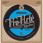 D'Addario EJ46 Hard Tension Pro-Arte Nylon Classical Guitar Strings (6-String Set, Clear Nylon, 28.5 - 44)