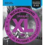 D'Addario EXL120BT Balanced Tension Super Light XL Nickel Wound Electric Guitar Strings (6-String Set, 9 - 40)