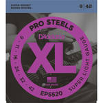 D'Addario EPS520 Super Light XL ProSteels Electric Guitar Strings (6-String, 9 - 42)