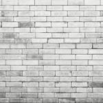 Westcott Brick Wall Art Canvas Backdrop with Hook-and-Loop Attachment (3.5 x 3.5', Gray)