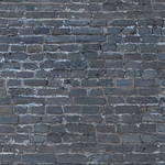 Westcott Brick Wall Matte Vinyl Backdrop with Hook-and-Loop Attachment (3.5 x 3.5', Multi-color)