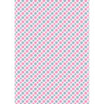 Westcott Dainty Dasies Matte Vinyl Backdrop with Grommets (5 x 7', Multi-Color)