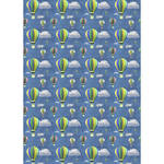 Westcott Hot Air Balloons Art Canvas Backdrop with Grommets (5 x 7', Multi-Color)