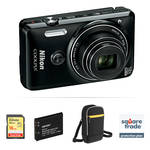 Nikon COOLPIX S6900 Digital Camera Deluxe Kit (Black, Refurbished)