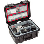 SKB iSeries 1309-6 Case w/Think Tank Designed Photo Dividers & Lid Organizer (Black)