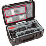 SKB iSeries 2011-7 Case w/Think Tank Designed Photo Dividers & Lid Organizer (Black)
