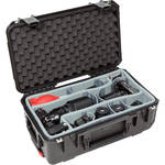SKB iSeries 2011-7 Case with Think Tank-Designed Photo Dividers & Lid Foam (Black)