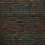 Westcott Grungy Brick Wall Matte Vinyl Backdrop with Hook-and-Loop Attachment (3.5 x 3.5', Multi-Color)