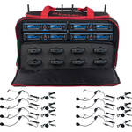 VocoPro UDH-PLAY-8-MIB 8-Channel Wireless Headset/Lapel Microphone System in a Bag (Frequency Channel: B2 & B4)