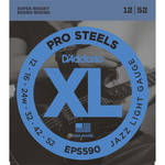 D'Addario EPS590 Jazz Light XL ProSteels Electric Guitar Strings (6-String, 12 - 52)